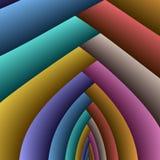 成拱形彩虹 免版税库存照片