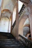 成拱形楼梯 库存图片