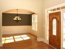 成拱形被弄脏的门玻璃轻的豪华 库存照片