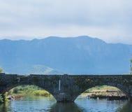 成拱形象眼睛, Skadar湖,黑山 免版税库存图片