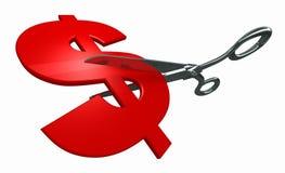 成本削减 向量例证