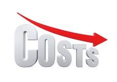 成本降低概念 图库摄影
