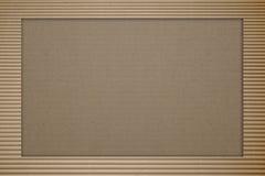 成波状的棕色纸板 库存图片