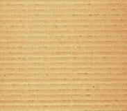 成波状的纸板 库存照片