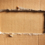 成波状的纸板 免版税库存图片