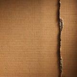 成波状的纸板 免版税库存照片