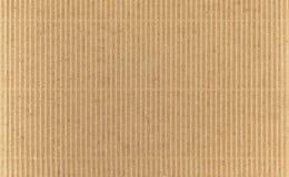 成波状被回收的纸板 库存照片