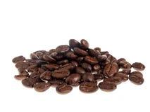 成熟咖啡豆 库存照片