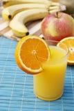 成熟开胃的新鲜水果 免版税库存图片