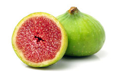 成熟新鲜的无花果果子 免版税库存图片