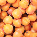 成熟新鲜的桃子 免版税库存图片