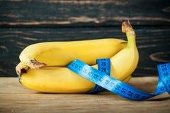 成熟新鲜的香蕉 免版税库存照片