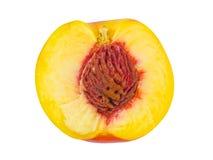 成熟果子的桃子 库存照片