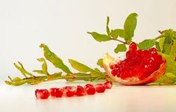 成熟果子的石榴 免版税库存图片