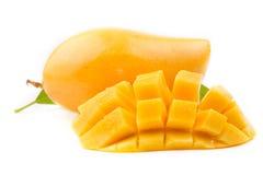 成熟果子的芒果 图库摄影