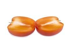 成熟柿子裁减 免版税图库摄影