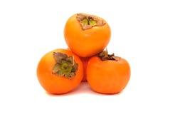 成熟柿子 免版税库存图片