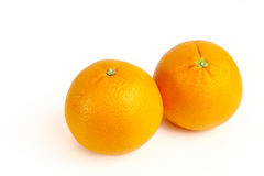 成熟桔子 免版税库存照片