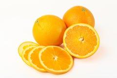 成熟桔子 免版税库存图片