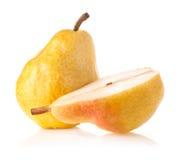 成熟梨 免版税库存图片
