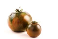 成熟棕色蕃茄 免版税图库摄影