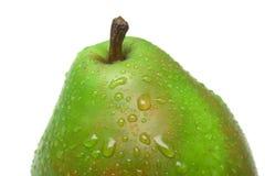 成熟水多的梨 免版税库存图片