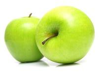 成熟水多的苹果2 库存照片