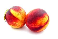 成熟油桃 库存图片