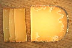 成熟法国干酪 库存照片