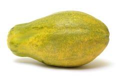 成熟番木瓜 免版税库存图片