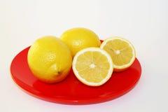 成熟的柠檬 免版税图库摄影