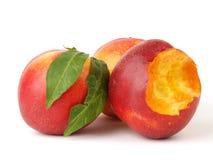 成熟的桃子 图库摄影