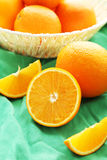 成熟的桔子 图库摄影