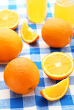 成熟的桔子 免版税图库摄影