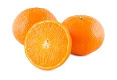 成熟的桔子 免版税库存图片