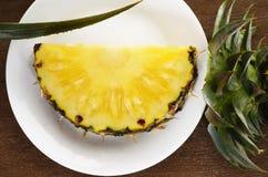 成熟的菠萝 库存照片