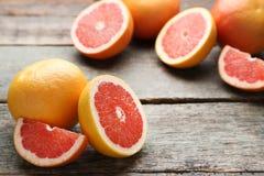 成熟的葡萄柚 图库摄影