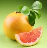 成熟的葡萄柚 库存图片