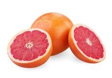 成熟的葡萄柚 免版税库存照片