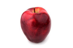 成熟红色苹果 库存图片