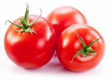 成熟红色蕃茄。 免版税图库摄影