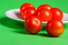 成熟红色蕃茄 库存照片