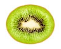 成熟绿色的猕猴桃 库存照片