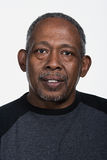 成熟非裔美国人的人画象  库存图片