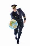 成熟飞行员 免版税库存图片