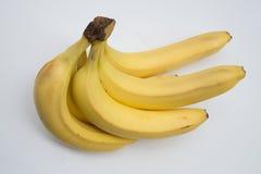 成熟香蕉束 库存照片