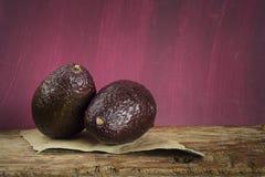 成熟鲕梨 免版税图库摄影