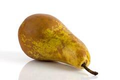 成熟水多的梨 免版税库存照片