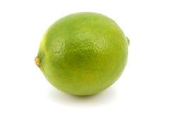 成熟绿色的石灰 免版税库存照片