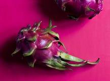成熟pitahaya龙果子 库存图片